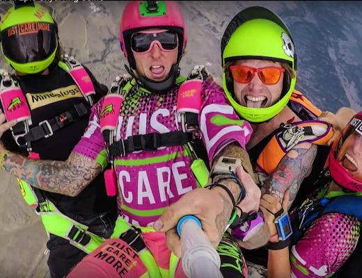 Skydive Selfie